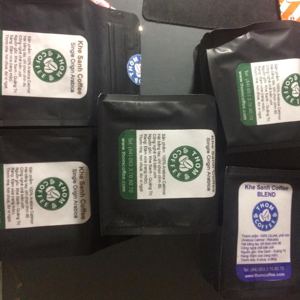 Khe Sanh Coffee Blend (Cà phê Khe Sanh phối trộn Arabica & Robusta)